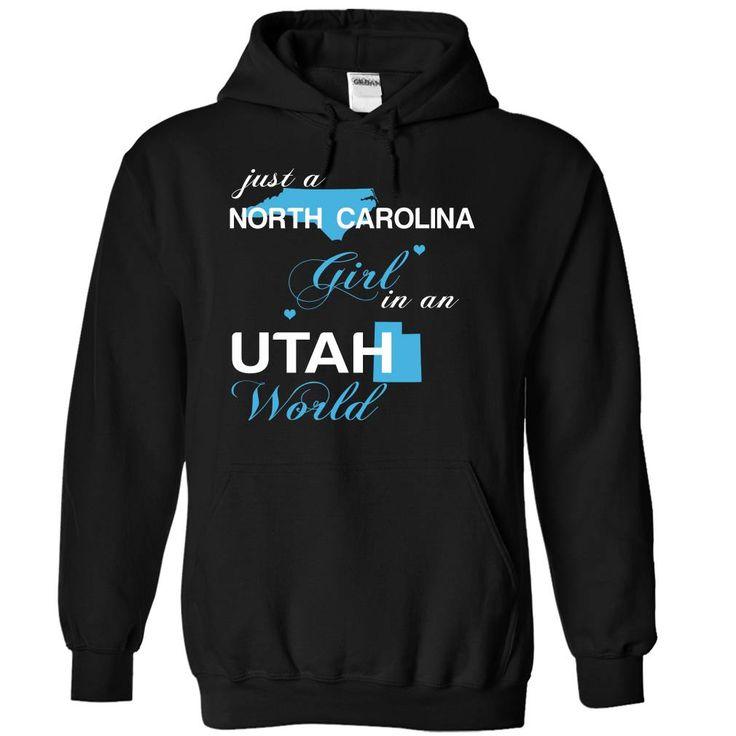 (NCJustXanh001) Just A North Carolina Girl In A Utah World T-Shirts Hoodies Sunfroghttps://www.sunfrog.com/Valentines/-28NCJustXanh001-29-Just-A-North-Carolina-Girl-In-A-Utah-World-Black-Hoodie.html?81633