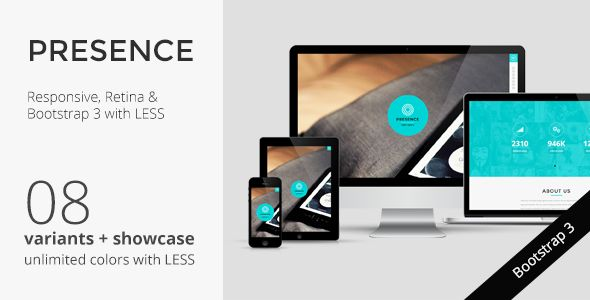 PRESENCE - Responsive One Page Parallax Template