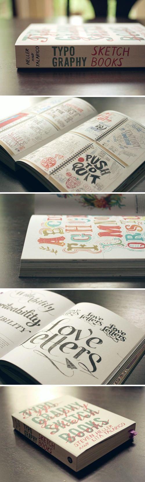 typografie schetsboek