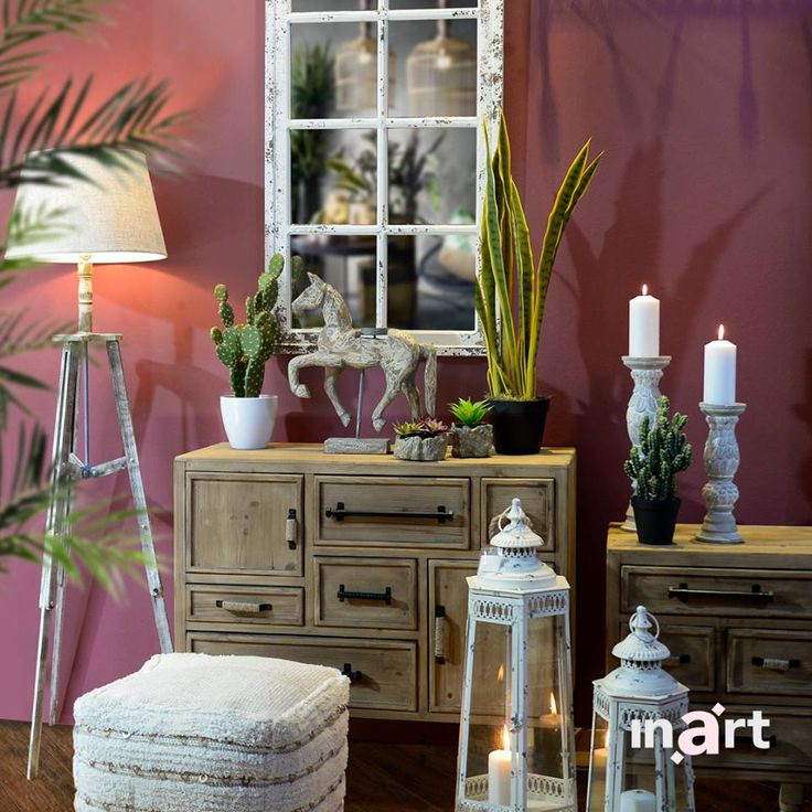 Boho style and pink background? They are a match! Innovative #inart ideas always make an impression… Explore more at www.inart.com