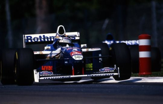 Heinz-Harald Frentzen (Williams-Renault)  Grand Prix de Saint-Marin - Imola 1997