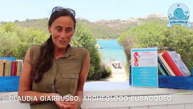BiblioBlu incontra l'Archeologo Subacqueo Claudia Giarrusso