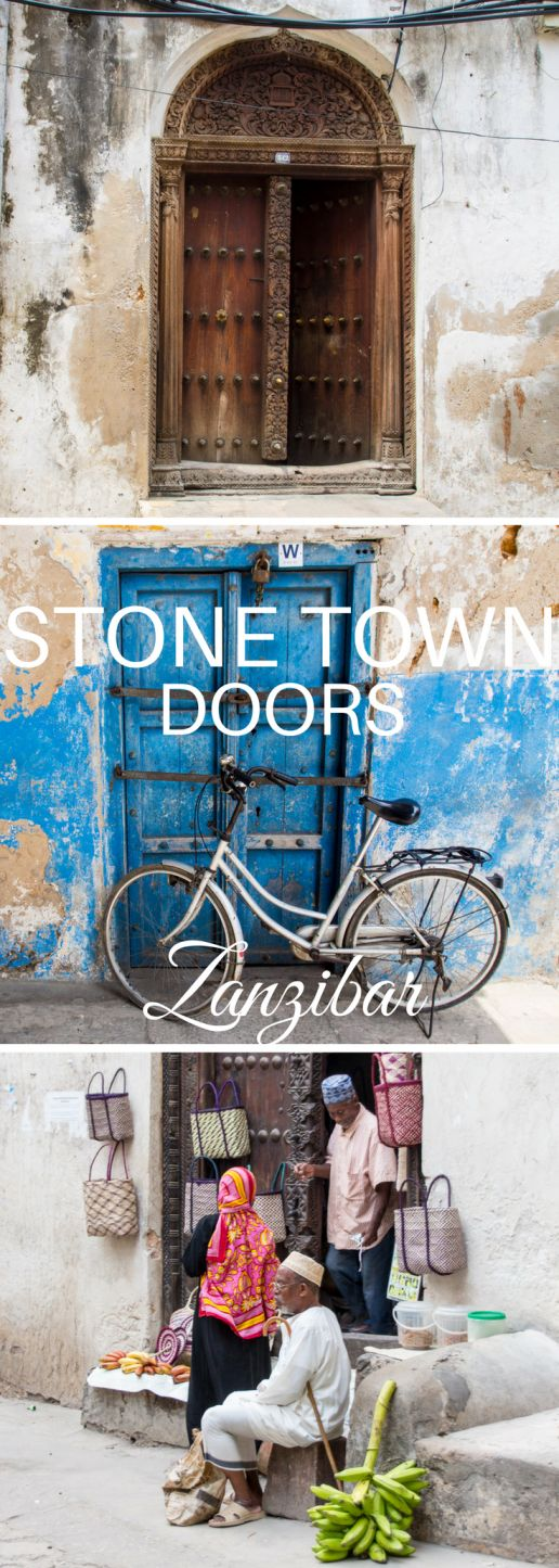 The doors of Stone Town tell stories of the residents' social status, religion, and profession. Get to know Swahili, Arab, and Indian doors!