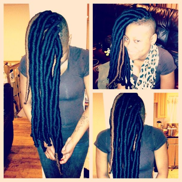 how to get fake dreads