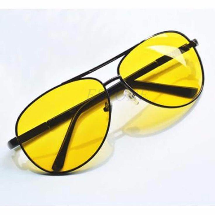 Night Vision Glasses Polarized Driving Aviator Anti-Glare Glasses Sunglass UV400