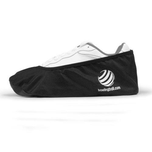 bowlingball.com Shoe Protectors - Large by bowlingball.com. $8.99. Don't let outside elements affect your game! Keep your shoes in tip-top shape with the bowlingball.com Shoe Protectors!Protects the soles of bowling shoes from moisture, gum, food, etc.Easy to slip on over shoes and stores easily inside a bowling bagContains Two (2) Shoe ProtectorsColor: Black Men's Traditional Width Small:--- Med:to size 7 Large:7.5 - 9.5 X-Large:10 - 12 XX-Large:12+ Women's Traditional Width Sm...