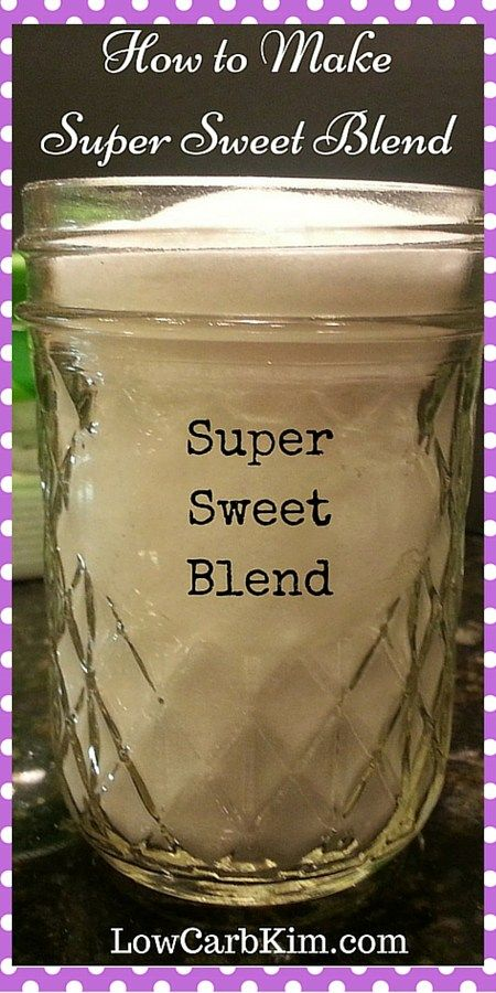 Super Sweet Blend Trim Healthy Mama on plan sweetener THM