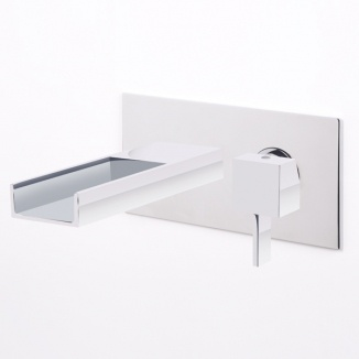 Vici Waterfall Wall Mounted Bath Filler...is ordered and on its way :)