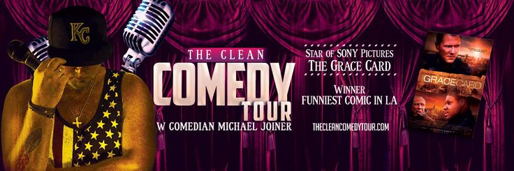 "Comedian and faith-based film star to headline ""The Clean Comedy Tour"""