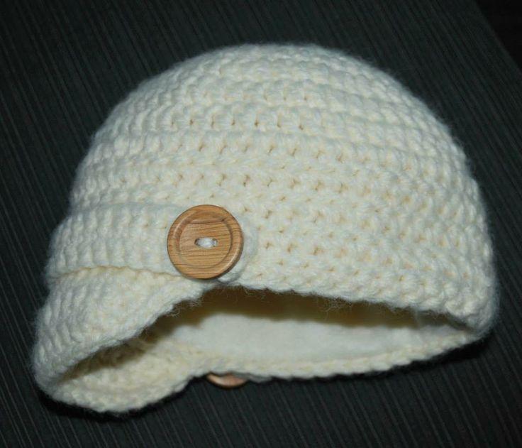 crochet hats, fleece lined, handmade www.facebook.com/littlegraciescreations