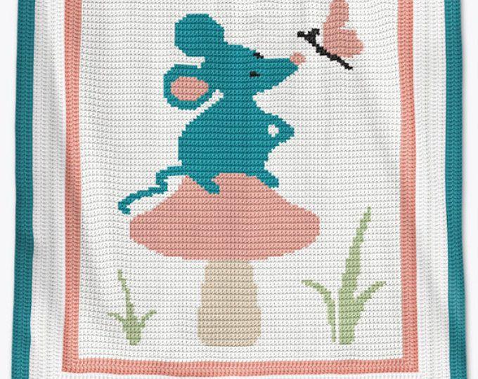 Mejores 107 imágenes de Babydecken en Pinterest | Frazadas, Tejido ...