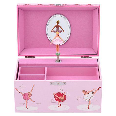 Buy Cath Kidston Ballerinas Musical Jewellery Box Online at johnlewis.com