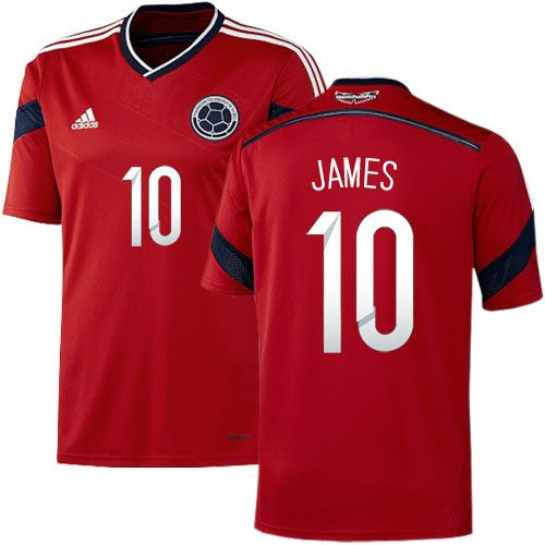 detailed pictures 2ef91 67689 colombia 10 james rodriguez away 2016 2017 country national ...