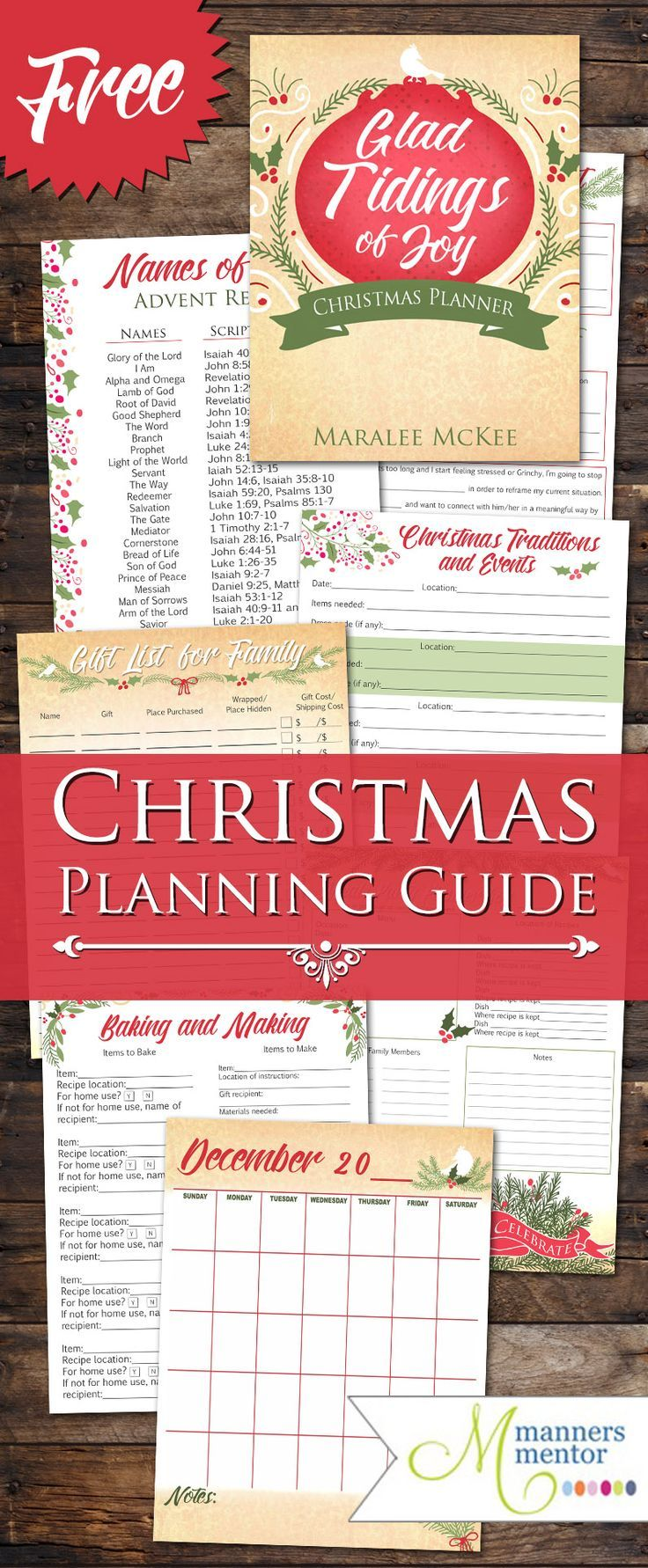 70 best basic manners teaching images on pinterest manners a christmas planning guide printable to help you plan and enjoy a more stress free gracious and lovely christmas that lets you focus on what you want your stopboris Gallery