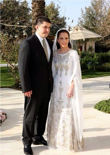 Marriage of zaid mirza and hrh princess iman daughter of for Robes de mariage en consignation seattle