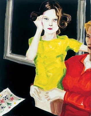 Untitled by American painter Elizabeth Peyton (b.1965). via the gorgeous daily