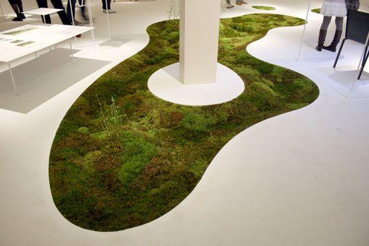 amoebic mossy carpet/planter