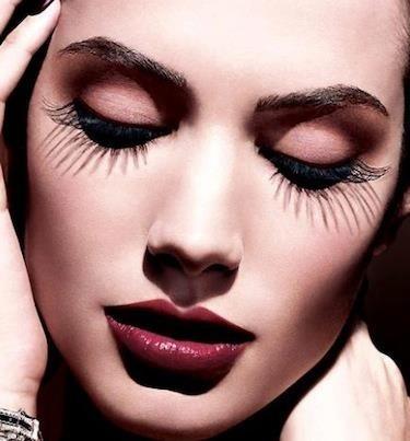 Larger than Life lashes! Get ones just like these here: http://rubybox.co.za/makeup/eyes/false-eyelashes/ready-to-wear-pre-glued-lashes.html?utm_source=pinterest.com_medium=eyes_campaign=eylure+lashes
