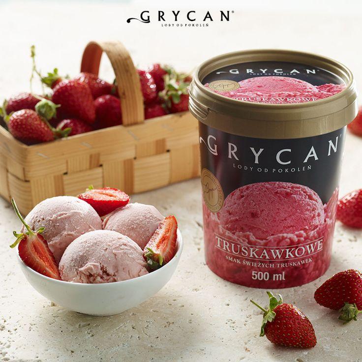 Grycan Lody Truskawkowe | Grycan Strawberry Ice Cream