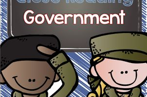 This Government Close Reading unit is an incredible resource on teaching students about the United States government.  Five main government topics are covered, and each topic is separated into three different reading levels so every student can be reached.  This is a fast, effective way to teach government in the classroom!