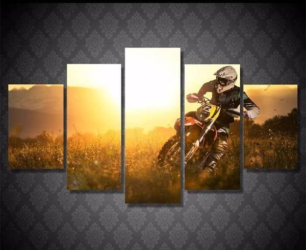 motocross bedroom