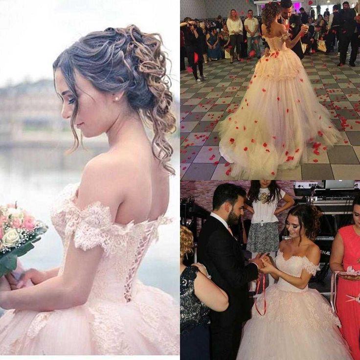 Vestido De Novia 2016 Arabic Pink Ball Gown Wedding Dresses Off Shoulder Backless Puffy Skirt Bridal Gowns Big Discount Bridal Gowns Custom Gorgeous Wedding Dresses Plus Size Bridal Gowns From Ourfreedom, $121.21| Dhgate.Com