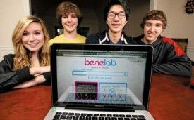Teen Entrepreneur's Search Engine Is Built for a Higher Purpose -- Mashable, June 2, 2012