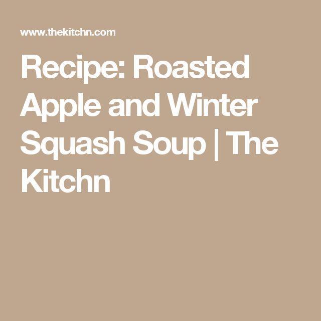 17 melhores ideias sobre winter squash soup no pinterest