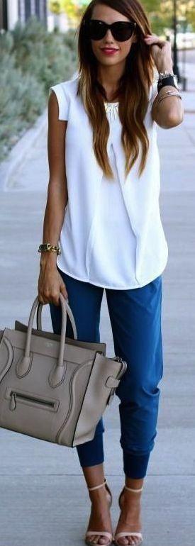 Celine Bag & Zara Sandals