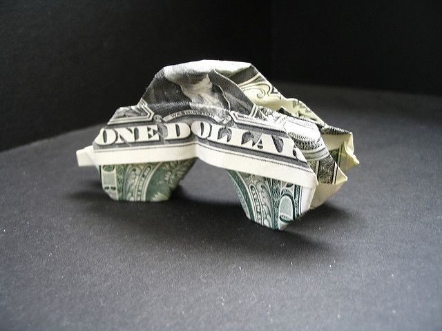 Dollar Origami Monster Truck by morpheology, via F…
