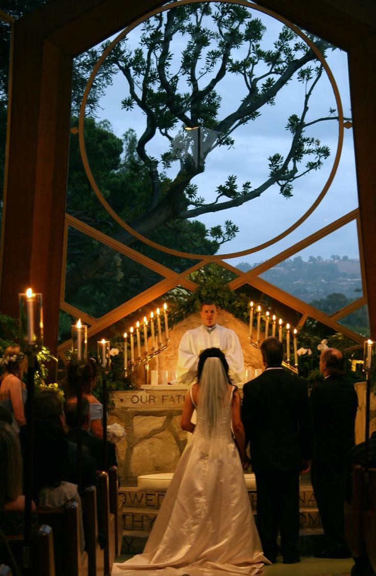 Wedding Photography Prices In California: Wayfarers Chapel In Rancho Palos Verde, CA.