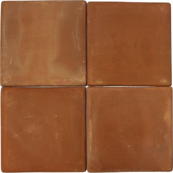 Mexican Tile 8x8 Spanish Mission Red Terracotta Floor