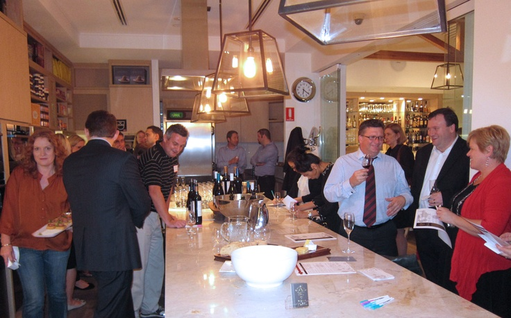 The Gourmet Belle Wine Circle Launch at Spring in Brisbane.