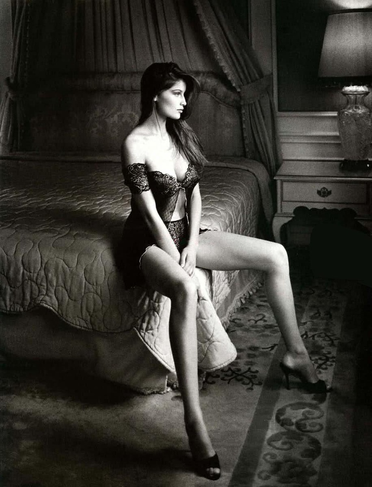 Laetitia Casta, French model known worldwide, epitomizes the Beauty and Class that can be found in lingerie photography. She was chosen to be the model for the Icon of the French government, Marrianne, who symbolizes their values the way that Lady Liberty does (the Statue being a gift from France).