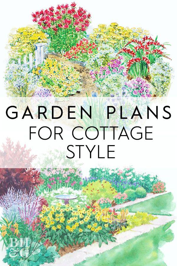 Garden Plans For Cottage Style Garden Planning Cottage Garden Plan Cottage Garden