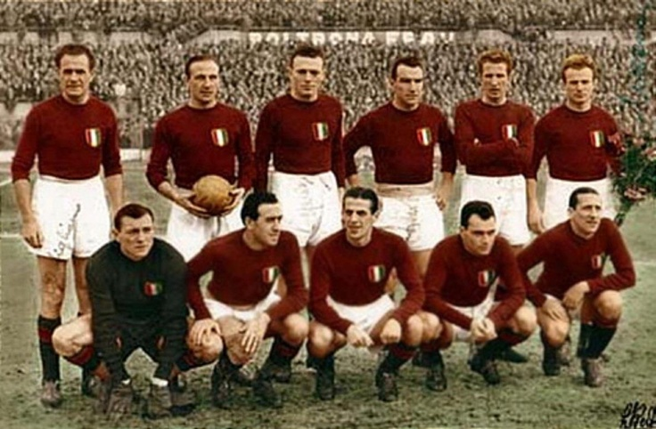 Torino Calcio, 1946. Uno de los mas grandes equipos de toda la historia
