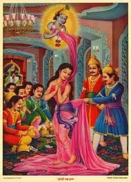 The Disrobing of Draupadi Image Source
