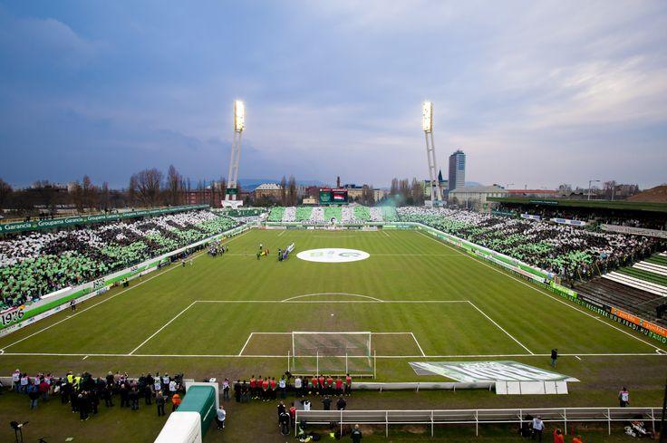A Fradi pálya, Üllői út, Albert stadion , a szentély. 1974-2013
