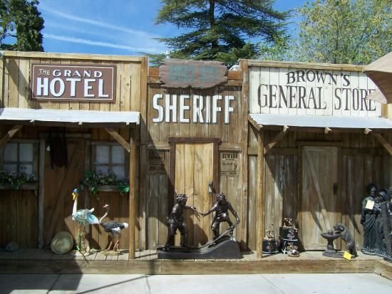 Old West Towns | ... weird enough, then check out the strange characters who are in town
