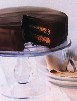 Inside-Out German Chocolate Cake Recipe  | Epicurious.com