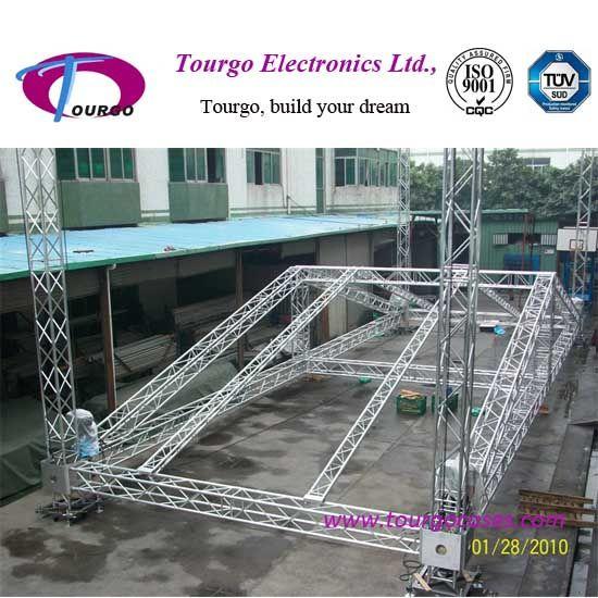Event Aluminum Peaked Roof Truss system