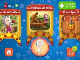 Masha et Michka - Jeux éducatifs sur ipad et android : Amuse-toi avec Masha et Michka !