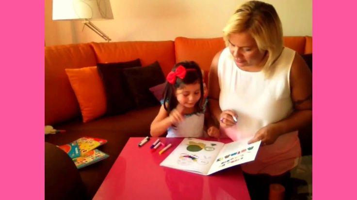 #ATIVIDADES - PINTURAS - DIVERSAO - CORES - ALEGRIA -  !!! parte 1 DONA ...