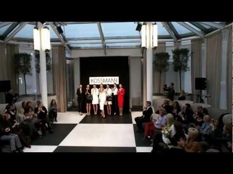Kossmann fashion show video #fashion #show #fashionshow #models #moda #clothing #spring #collection