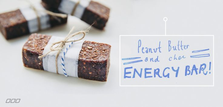 On the Go? These Peanut Butter & Cacao Energy Bars Are For YOU! - Move Nourish Believe