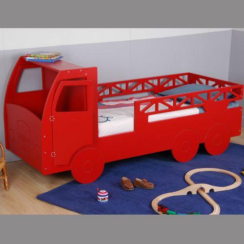 1000 id es sur le th me chambre de pompier sur pinterest chambre d cor e a - Lit enfant camion de pompier ...