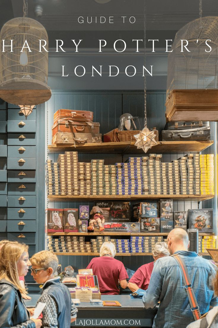 Use these tips to enjoy an entirely Harry Potter themed London vacation while seeing the city's major sights along the way. via @lajollamom