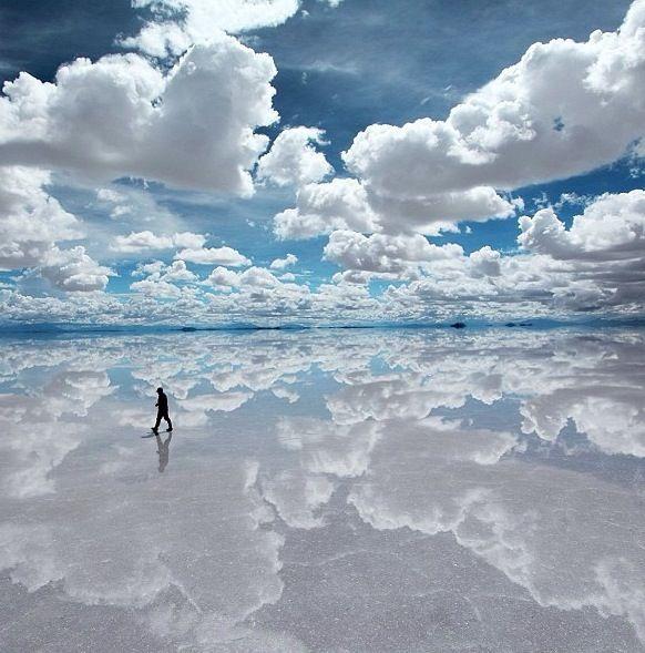 Salt flats- Bolivia