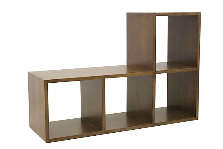 Etagere Cubes Hevea 4 Niches 82x40x120cm Tradition Mobilier De Salon Meubles De Rangement Etagere Cube