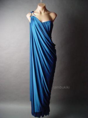 Goddess dress. Love this blue. $45